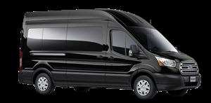 Black Tie Transit Van